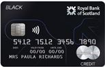 Reward Black Credit Card Ex/C
