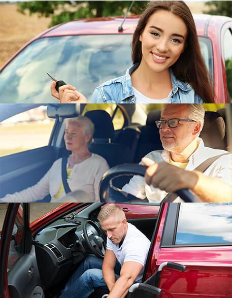 Different car insurance driver profiles