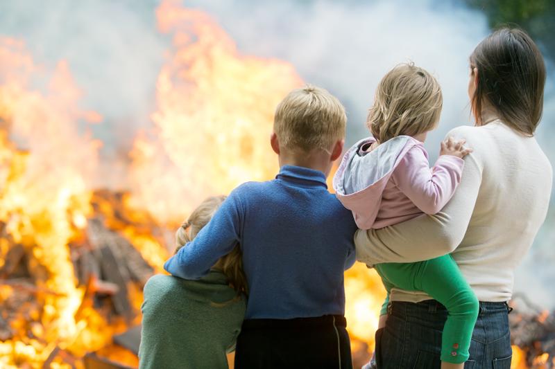 Los seguros de hogar en caso de incendio