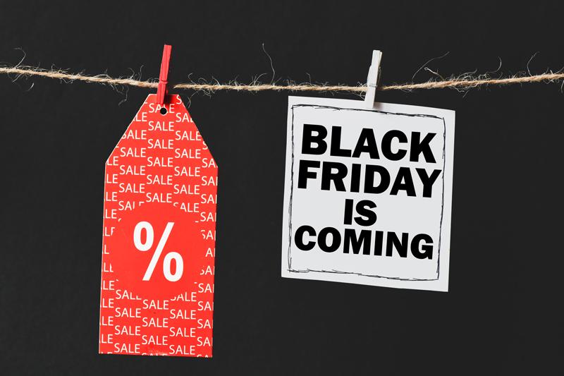 El Black Friday está cerca…..¡Prepárate para ir de rebajas!