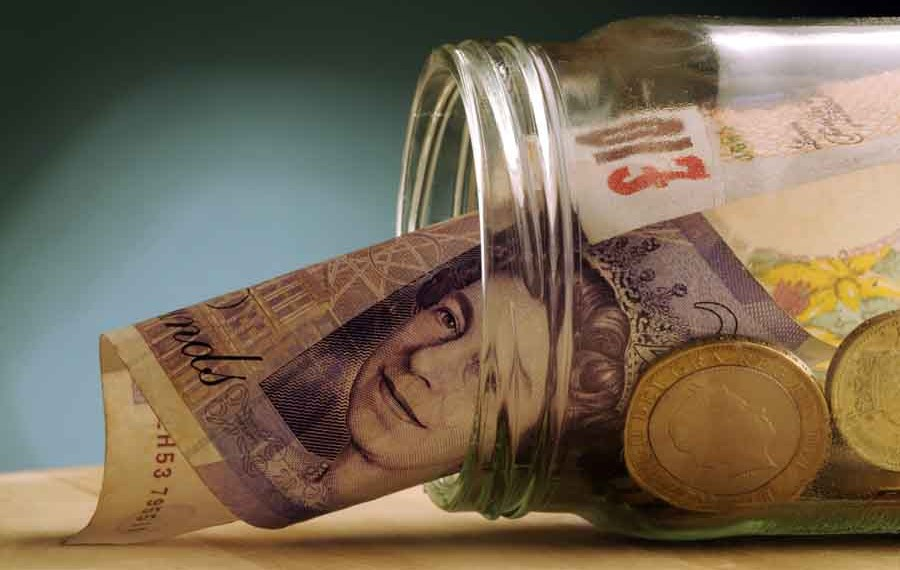 pounds in a jar
